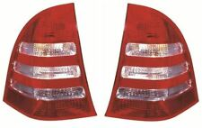 Mercedes C Class 2004-2008 Estate Rear Tail Light Lamp Pair Left & Right