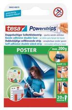 Tesa Poster Powerstrip - 20 Stück, spurlos ablösbar