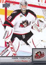 13/14 UPPER DECK AHL #62 MARK VISENTIN PIRATES *4763