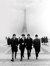 THE BEATLES-Parigi-pronte incorniciato tela
