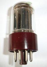 "1x RCA JAN 5692 ""red base & trimica"" = 6SN7 Röhre neuwertig getestet"