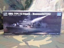 TRUMPETER HMS TYPE 23 FRIGATE MONMOUTH F235 PLASTIC MODEL SHIP