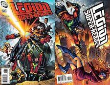 Legion of Super-Heroes #43-44 (2004-2009) DC Comics - 2 Comics