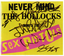 THE SEX PISTOLS Signed NMTB Advertisement Photograph - Punk Rock Band - preprint