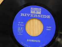 Clark Terry 45 ep Boomerang bw Serenade To A Bus Seat   Riverside VG+