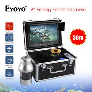 "EYOYO 9"" 360° 30M 1000TVL Fish Finder W/ Controller Underwater Fishing Camera"