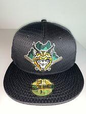 Men's New Era MILB Lynchburg Hillcats Mesh Black Batting Practice Hat NWT 7 1/8