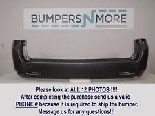 OEM 2011-2017 Toyota Sienna Base/Limited/LE/XLE/L w/o Sensors Rear Bumper Cover