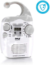 Pyle Home Psr6 Waterproof Shower Clock Radio