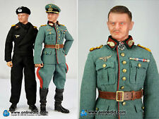 "DID 1/6 Scale 12"" WWII German General Heinz Guderian Action Figure D80056"
