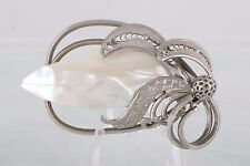 MOTHER OF PEARL BROOCH FASHION 3183B