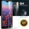 For Huawei P20 lite/P20 Pro/P20 Real Tempered Glass Film Screen Protector + Case