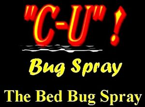 Say Bye-Bye to Bed Bugs SAFELY  NonTox KILLER CU Bug Spray *CONC. makes TWO GAL.