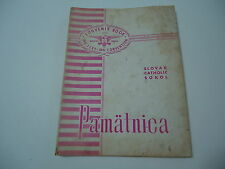 Slovak Czech Sokol Gymnastic Track Field Meet Book 1959 Reading PA local ads