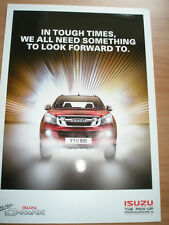 Isuzu D-Max range brochure c2011