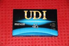 MAXELL UD  I  46      VS. VIII         BLANK  CASSETTE  TAPE  (1)   (SEALED )