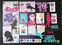 Luna Lovegood Scrapbook Kit! Project Life, Paper, die cuts, Harry Potter Kit,