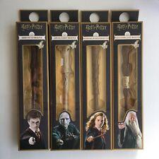 Harry Potter, Hermione Granger, Albus Dumbledore, Lord Voldemort WANDPEN IN BOX