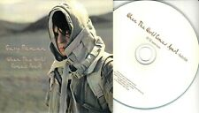 GARY NUMAN When The World Comes Apart 2017 UK 1-trk promo test CD