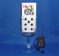 Remote Control Card Rise - Magic Tricks Card Stage Magic Props Illusions Gimmick