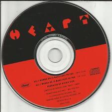 Ann & nancy Wilson HEART All I wanna do is make EDIT PROMO CD Single love to you