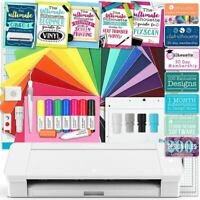 Silhouette White Cameo 4 Educational Bundle, Oracal Vinyl, Guides, Class