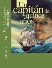 Un Capitan de Quince Años by Julio Verne (2015, Paperback)
