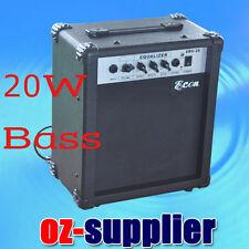 20 Watt Electric BASS Guitar Amplifier AMP