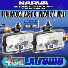 NARVA 72230 ULTRA COMPACT DRIVING LIGHT KIT, 150x85mm RECTANGLE SPOT SPREAD BEAM