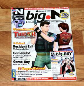 2002 Nintendo Magazine Resident Evil Turok Evolution Sonic Adventure 2 Rune GBA