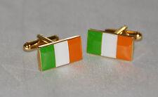 Irlanda-Tri-colour irlandese bandiera rettangolare GEMELLI (CF020)