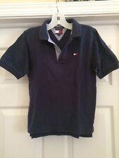 Fabulous Tommy Hilfiger Boy's Navy Blue Polo Shirt-Size 7