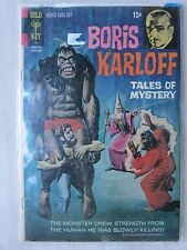 Old Gold Key Comic Boris Karloff Tales of Mystery Febrary 1971 GC