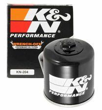 K&N FILTERS KN-204 Oil Filter for Honda Kawasaki Yamaha Suzuki Triumph