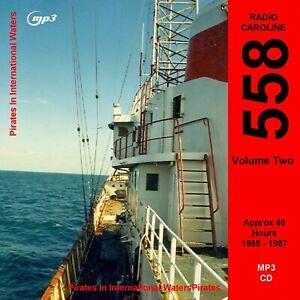 Pirate Radio Caroline 558 Volume Two Listen In your Car