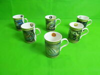 Danbury Mint The Lord of The Rings Mugs x 6