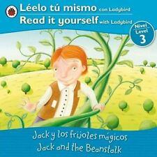 Jack and the Beanstalk Jack y los frijoles magicos: Bilingual Fairy Ta-ExLibrary