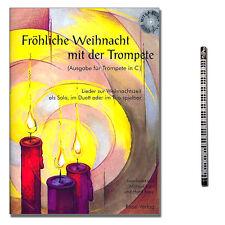 Que tengas una feliz navidad con la trompeta (C) con CD, música-lápiz - 9990051930146