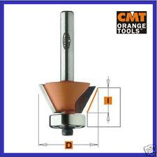 CMT HM Fasefräser Fasenfräser 45° D 27 mm Schaft 8 mm
