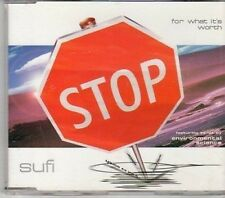 (CY317) Sufi, For What It's Worth - 1998 DJ CD