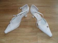 Schuhe *Pumps *Hochzeit *growikar 186/4 *Weiß *Gr. 36 *Gr. 37 *Absatz 4,5 cm