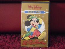 WALT DISNEY - LA VITA CON TOPOLINO -VHS VIDEOCASSETTA - ORIGINALE SETTE.1986
