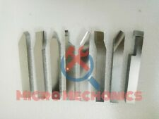 New listing 12mm Hss Lathe Form Tools Set Of 8 Pieces Square Shank Lathe Pre - Formed Tools