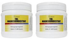 2x Pro Natural Tri-Magnesiumdicitrat 1 kg Magnesium Citrat hochwertig wasserfrei
