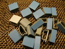 25 Pcs Gray Plastic Self Adhesive Wire Cord Cable Clip Holder Clamps NEW