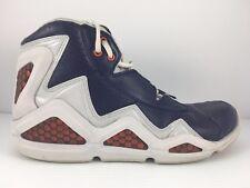 Reebok Men US 8 Sermon Thunder Blue + WhiteJ87499 Athletic Basketball Shoes
