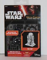 Metal Earth STAR WARS  R2-D2 3D DISNEY Model Kit  new