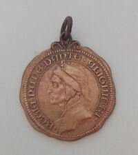 Medaglia Regia Nave DANTE ALIGHIERI Regia Marina Militare 1912 Bronzo