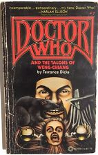 DOCTOR WHO #7 Talons of Weng-Chiang by Terrance Dicks (1979) Pinnacle pb 1st