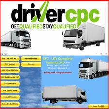 LGV HGV Driver CPC Complete Training Module 2 & 4 Plus DVSA Driving Theory Test